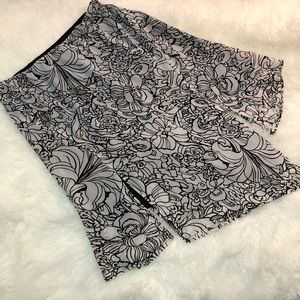Lane Bryant Choppy Hem Full Skirt